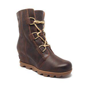 Sorel Joan Of Arctic II Leather Wedge Boots Size 8